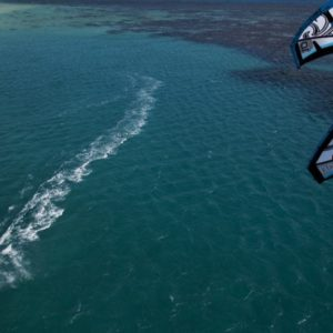 kitesurf board four mile beach port douglas great barrier reef