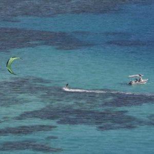 snapper island kitesurfing four mile beach great barrier reef port douglas