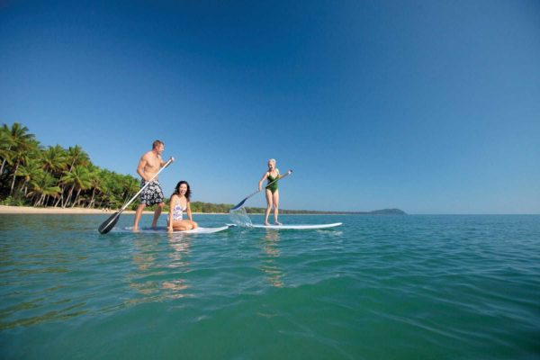 port douglas tours including snorkelling stand up paddleboarding kitesurfing tubing