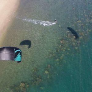 Snapper kite take off go hero