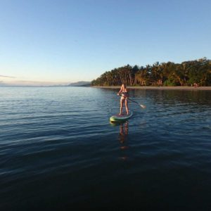 stand up paddle board port douglas beach sup great barrier reef