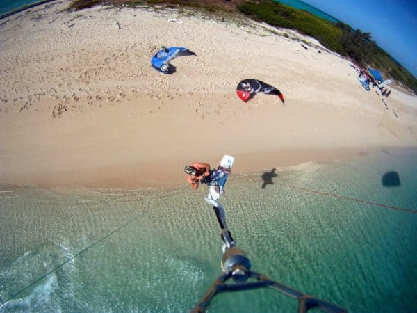 kiteboarding kitesurfing four mile beach port douglas great barrier reef