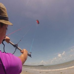 learn to kitesurf four mile beach port douglas great barrier reef low isles