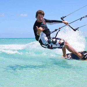 kitesurfing four mile beach port douglas great barrier reef