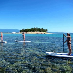 Explore the Great Barrier Reef from SUP with Windswell Kitesurfing, Port Douglas