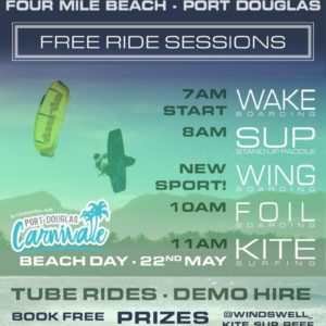 Free Ride Sessions - Windswell Kitesurfing Port Douglas