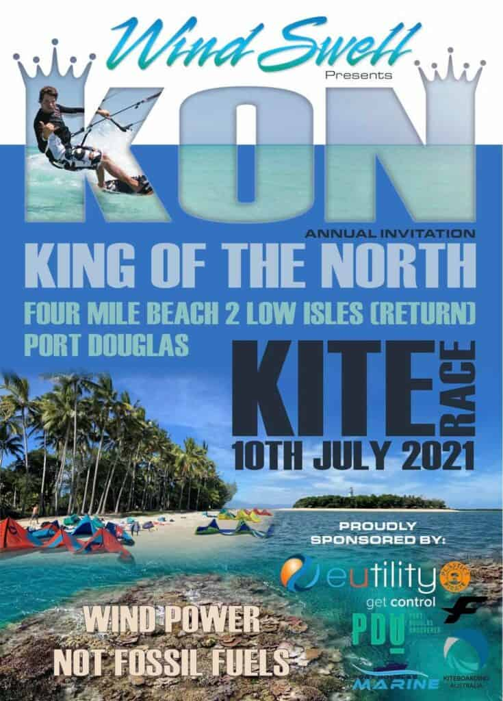 King of the North - Four Mile Beach to Low Isles - Annual Kite Race